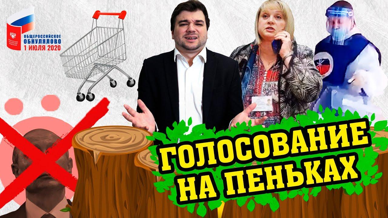 Голосование 2020 на пеньках! // Александр Торн для Открытки