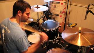 camera test monster by skillet drum cover