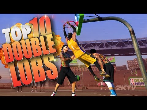 Never Before Seen DOUBLE & TRIPLE LOBS! - NBA 2K17 Top 10 Plays
