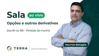 22 MAR 2019 - PERÍODO DA MANHÃ - SALA AO VIVO - OPÇÕES E OUTROS DERIVATIVOS COM MAURICIO BATTAGLIA