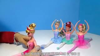 Принцессы Диснея Куклы Барби видео игра в куклы д