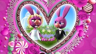С Днем Свадьбы. Поздравления С Днем Свадьбы. Свадебные футажи С Днём Свадьбы. Прикольные мультики