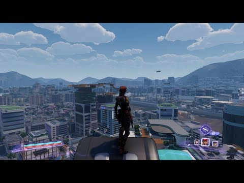 Agents of Mayhem Free Roam Gameplay