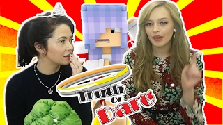 Kelly & Carly Vlogs : TRUTH OR DARE WITH BRITNEY!!