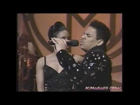 1990 Stephanie Mills and Christopher Williams sing