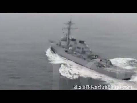 Este es el buque norteamericano USS Donald Cook