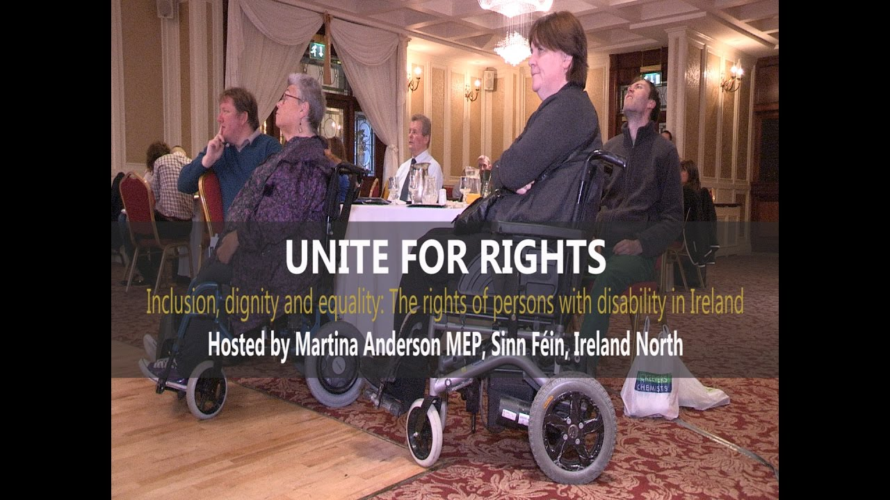 Unite for Rights - The Rights of persons with Disability in Ireland conference