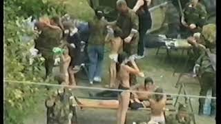 (Часть 2) Видеозапись событий в школе № 1 г. Беслана 03.09.2004 г.