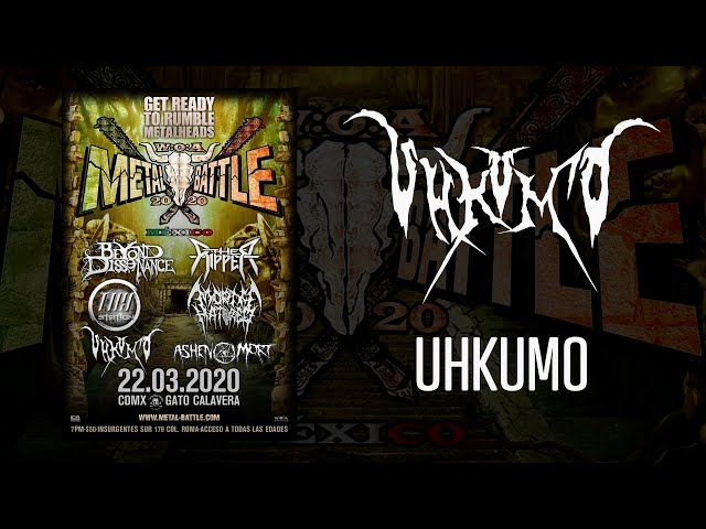 Uhkumo en W:O:A Metal Battle México 2020