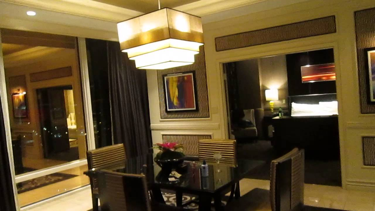 Mirage Las Vegas 2 Bedroom Penthouse Suite Tour Youtube
