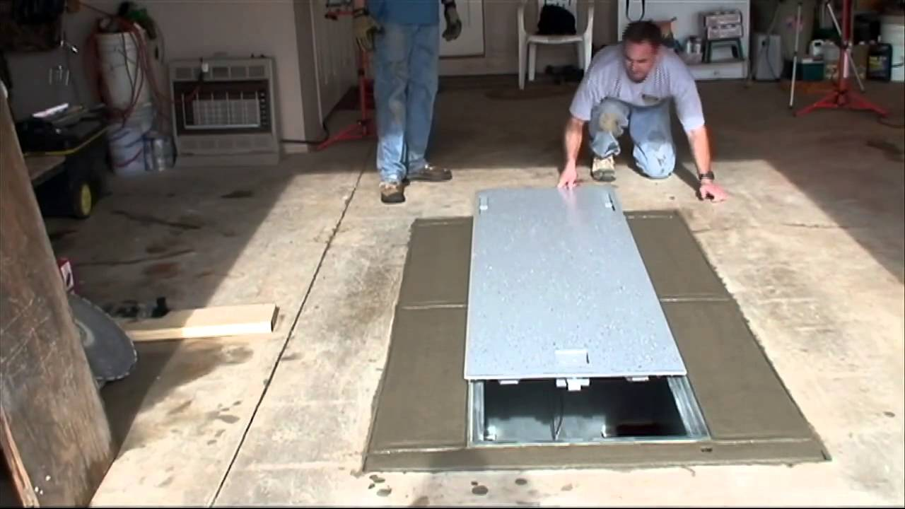 Video 8 Safe Room Installation Flat Safe Tornado
