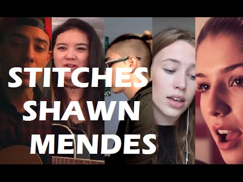 TOP 5 COVERS of STITCHES - SHAWN MENDES