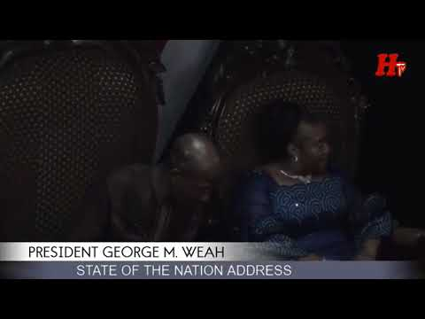 NATION ADDRESS... BY H. E. GEORGE WEAH  PRESIDENT OF THE REPUBLIC OF LIBERIA