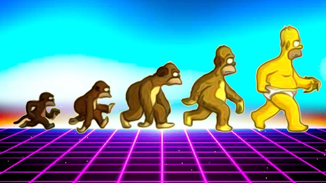 Zombie Evolution - Neatorama