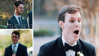 The BEST Compilation of Emotional Groom Reactions Seeing Their Brides!