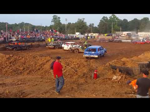 Monroe county  (woodsfield) fair compact derby part 1 of 2