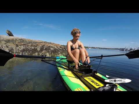 62c31851d0 Kestrel Rowing the Oar Board® on the Fitness Row 12' SUP in Oak Bay ...
