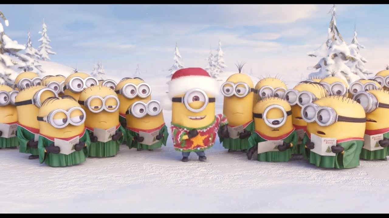 minions jingle bells merry christmas 2017