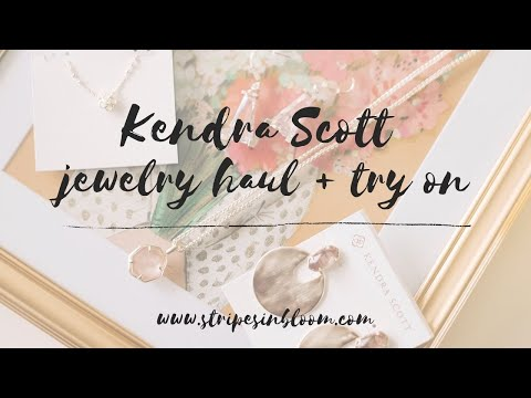 FASHION || Kendra Scott jewelry haul 2019 fall collection