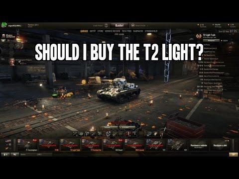 World of Tanks Premium T2 Light review