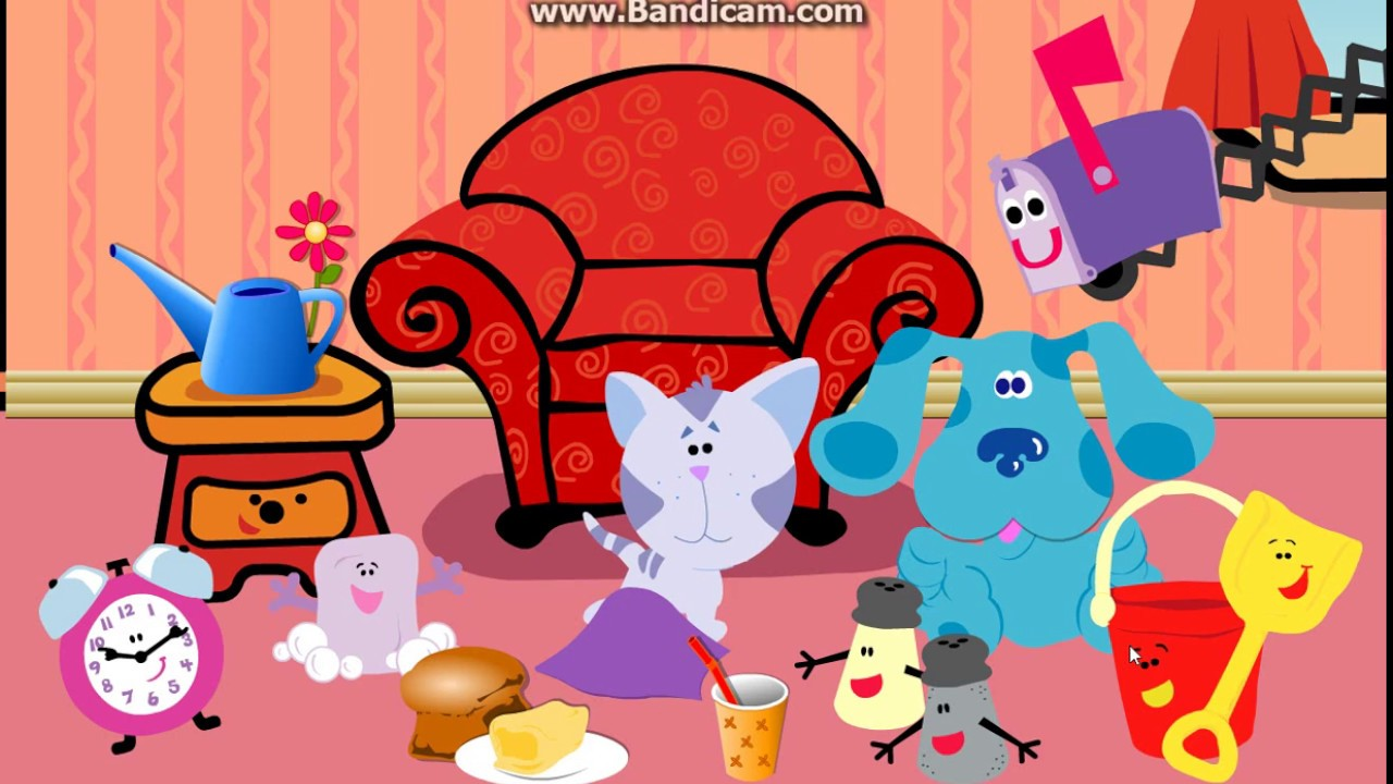 Blue's Clues - Periwinkle's Disappearo (2000 Flash Game ...