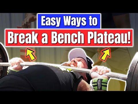Easy Ways To Break A Bench Press Plateau