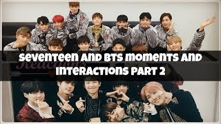 💖 BTS And Seventeen Moments And Interactions Part 2 💖