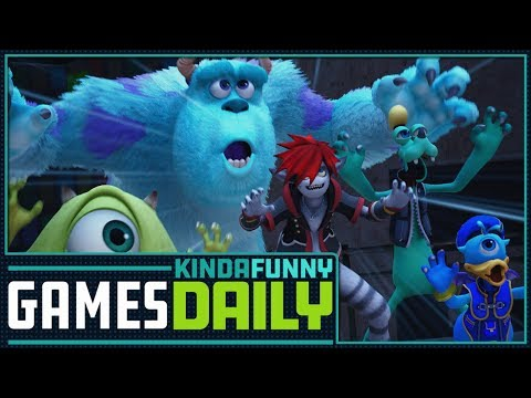 Kingdom Hearts 3 Reactions - Kinda Funny Games Daily 02.12.18