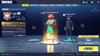 Fortnite/new tomato skin gameplay/Come chill/sub goal (156/170)