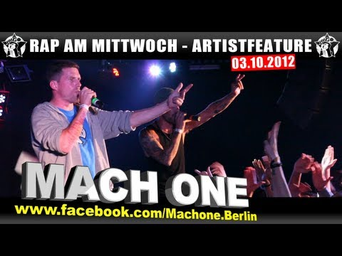 RAP AM MITTWOCH - Artistfeature #11 - Mach One - Schweinegrippe & Sperrt mich ein (LIVE)