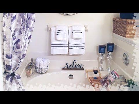 Master Bathroom Decorating Ideas & Tour