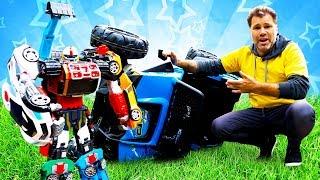 Нове відео для дітей. Ігри гонки на машинах. Іграшки тоботы для хлопчиків.