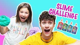 SLIME Challenge | Simon Says SLIME Challenge | SIS vs BRO