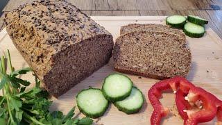 Полезный хлеб без глютена и дрожжей