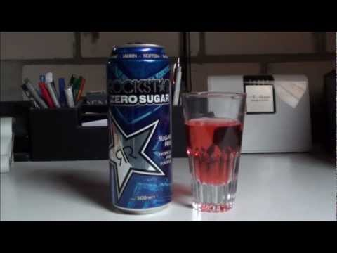 Let's Test Energy: Rockstar Zero Sugar Sugar Free Tropical Fruit Flavour