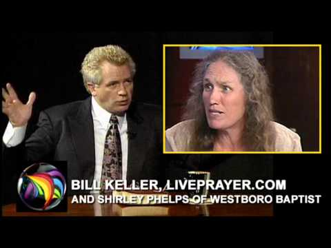 Westboro Baptist: Bill Keller Takes On Shirley Phelps
