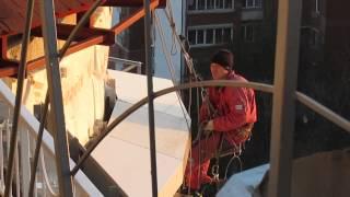 Промышленный альпинизм.(Промышленный альпинизм.Киев http://join.air.io/zarabotoksair., 2014-10-30T21:09:20.000Z)