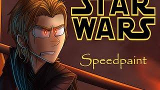 Anakin vs Obi wan - speedpaint