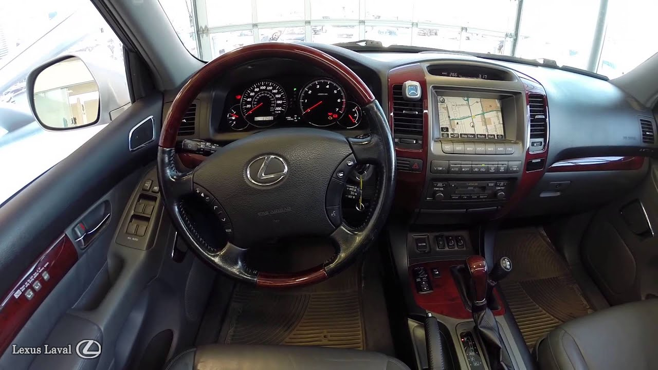 Lovely LEXUS GX470 ULTRA PREMIUM 2009 STOCK: U1449   YouTube