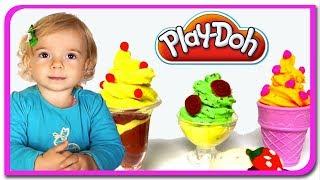 Masina de inghetata Play Doh  Anabella Show