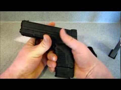 Review Of Springfield Armory Xds Extended Magazine Youtube