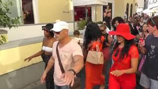 Rihanna shopping and holiday in Capri (Italy)