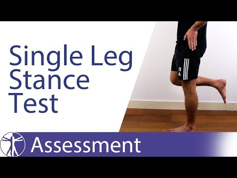 Single Leg Stance Test | Gluteal Tendinopathy (GTPS)