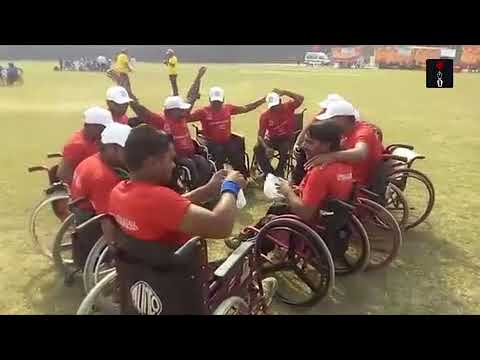 Inter-State Wheelchair Cricket Tournament Played At Panjab University Ground In Chandigarh