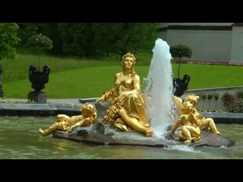 GERMANY Schloss Linderhof, Bavaria (hd-video)