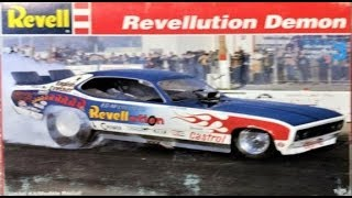 Model Kit Review-  Revellution Demon Funny Car Revell 1:25 Scale Kit # 85-7355