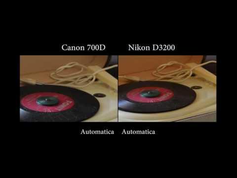 Canon EOS 700D vs Nikon D3200. Test fotografico rapido (USA Canon Rebel T5i, Japan Canon Kiss X7i )