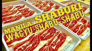 Best Buffets Manila Episode 9: Shaburi Wagyu Shabu Shabu Buffet Uptown Mall BGC