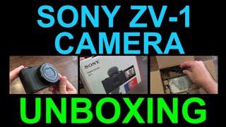 Sony ZV-1 Digital Camera UNBOX…