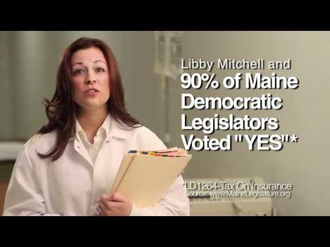 "Maine GOP ad- ""Baby tax"""